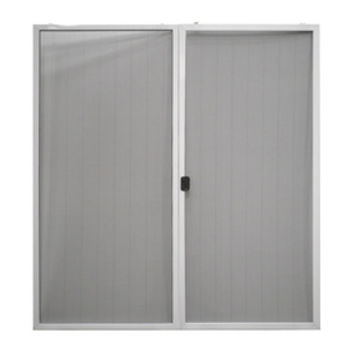 Shop ReliaBilt White Aluminum Sliding Screen Door (Common: 72-in x 80-in; Actual: 70.625-in x 77.562-in) at Lowe's