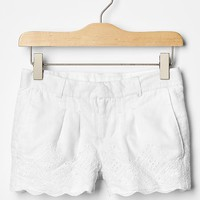 Gap Girls Eyelet Shorties
