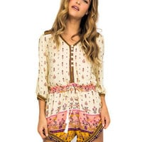 Spell & the Gypsy Collective Desert Wanderer Playsuit