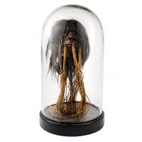 Shrunken Head in Dome