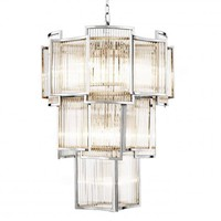 LAYERED GLASS CHANDELIER | EICHHOLTZ JET SET