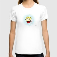 The Sbirù - Just Smile... T-shirt by Giuseppe Lentini