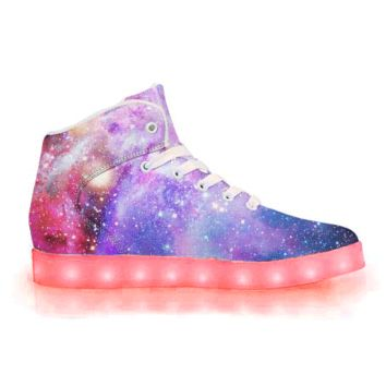 Intergalactic - APP Controlled High Top LED Shoes