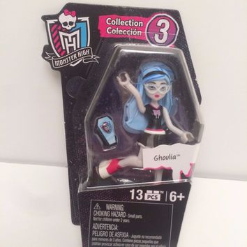 "2016 Mega Bloks Series 3 Monster High 3"" Ghoulia Figure"
