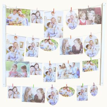 Giftgarden Hanging Picture Frame to Protect and Display Family Memories