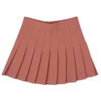 """PINK"" PLEATED SKIRT"