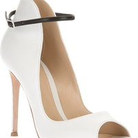 Gianvito Rossi Open Toe Bootie