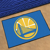 "NBA - Golden State Warriors Starter Rug 19"" x 30"""