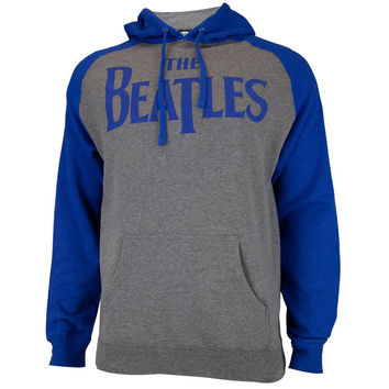 The Beatles - Logo Adult Pullover Hoodie