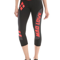 DC Comics Harley Quinn Girls Active Capris