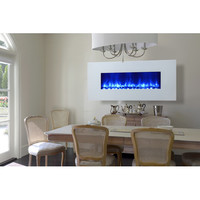 Dynasty Miami LED Wall Mount Electric Fireplace