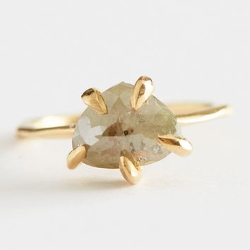 Gray Diamond Contemporary Claw Ring by Lauren Wolf for Of a Kind