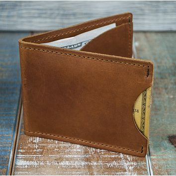 3-Slot Front Pocket Card Sleeve Wallet - 21st Amendment (Rio Latigo Leather)