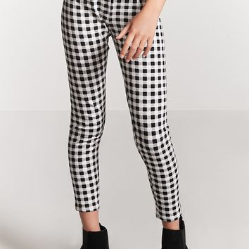 Girls Gingham Leggings (Kids)