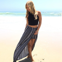 On The Line Maxi Skirt