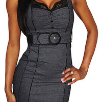 Bought It (Black / White)-Great Glam is the web's top online shop for trendy clubbin styles, fashionable party dress and bar wear, super hot clubbing clothing, stylish going out shirt, partying clothes, super cute and sexy club fashions, halter and tube t