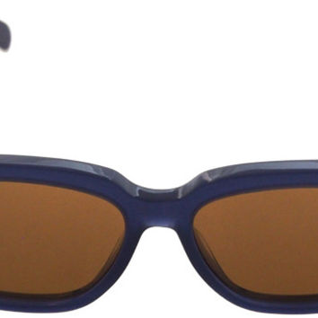celine cl 41057/s m23ea - blue sunglasses