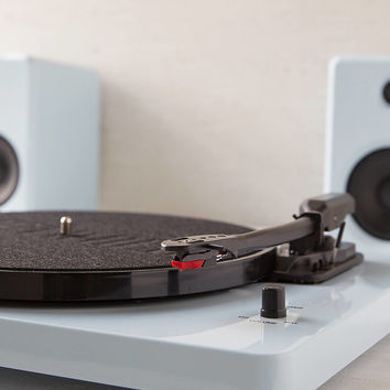 EP-33 Bluetooth Turntable With Speakers - Glossy Blue | Urban Outfitters