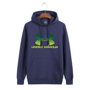 Under Armour Women Man Fashion Print Sport Casual Top Sweater Pullover Hoodie