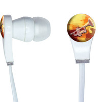 Trumpet Player - Band Instrument Music Brass In-Ear Headphones