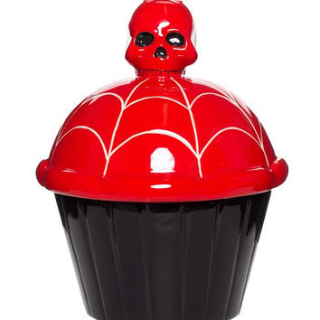 Sourpuss Cupcake Cookie Jar