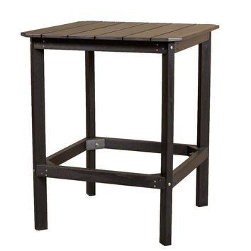 "Wildridge Classic Recycled Plastic 42"" High Dining Table"