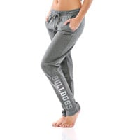 Georgia Bulldogs Let Loose by RNL Juniors Bryant Sweatpants - Charcoal