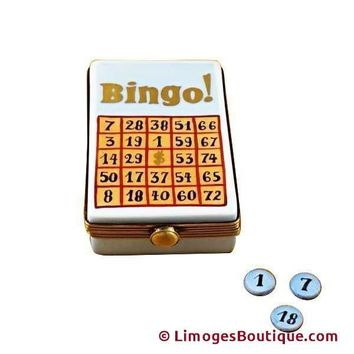 BINGO GAME LIMOGES BOX