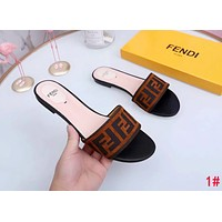 FENDI Summer Popular Woman Slipper Sandals Shoes