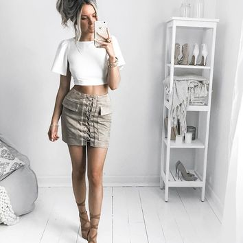 Khaki Dream Skirt