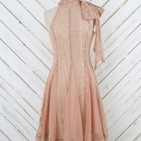 Altar'd State Spectacular Party Dress in Blush | Altar'd State