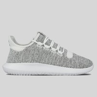 AUGUAU adidas Tubular Shadow Knit J Running White