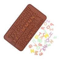 1Pcs New Alphabet Silicone Cake Mold Decorating Fondant Cookie Chocolate Mould