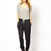 Selected Lega Sweat Pants in Burn Out