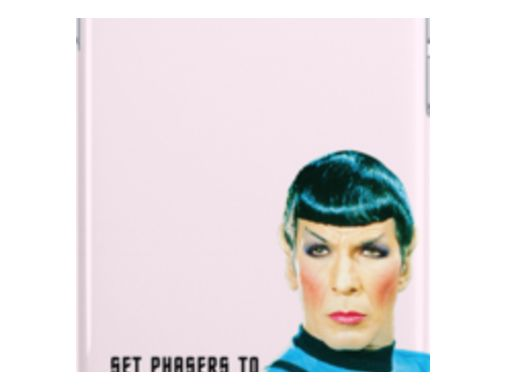 Set phasers to stunning, Mr. Spock