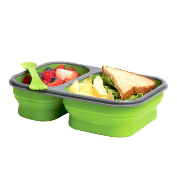 Collapsible Luncbox with Spork (Large)
