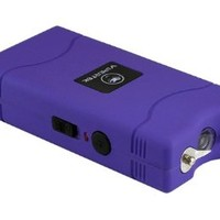 VIPERTEK VTS-880 - 25,000,000 V Mini Stun Gun - Rechargeable with LED Flashlight, Purple