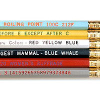 GiftGenius: Know-it-All Pencil Set