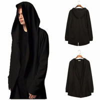 Strong Character Men Scarf Cloak Hoodies Casual Hats Jacket [10352112707]