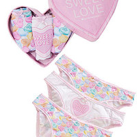 Candy Hearts 3 Brief Pack