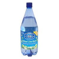 Crystal Geyser Mineral Water Lime, 42.27-Ounce (Pack of 12)