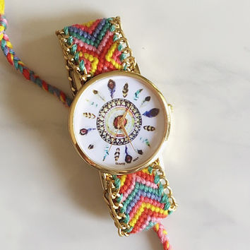 Color Dreamcatcher Friendship Watch