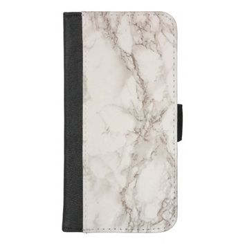 Marble Stone iPhone 8/7 Plus Wallet Case