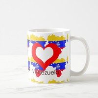 I love Venezuela Coffee Mug