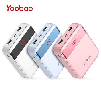 Yoobao M4Pro Mini Portable Colorful Phone Charger