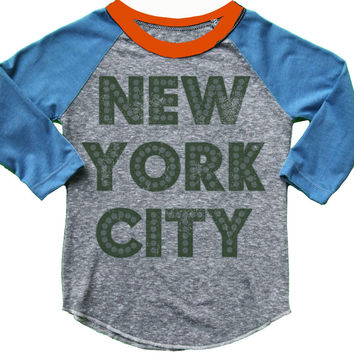 Rowdy Sprout NYC Raglan Tee