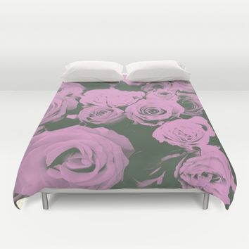 Mother May I Duvet Cover by Ducky B