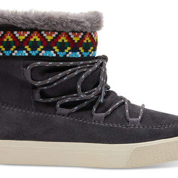 FORGED IRON SUEDE WOMEN'S ALPINE BOOTS