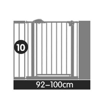 92-130cm many size gate  Safe Gate Pet Isolating Dog Fence Fence Child Safe Iron Baby Safety Fence Baby Stairs