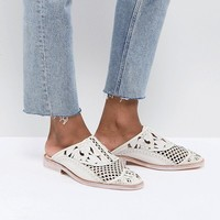 Free People Paramount Leather Loafers at asos.com